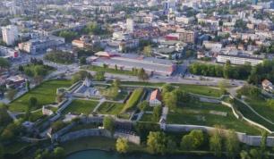 Aerial view Banjaluka