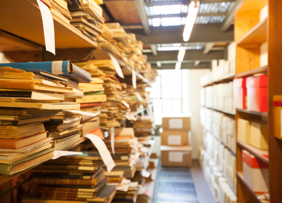 Arhives, Archival materials